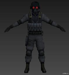 Hunk 3D Model