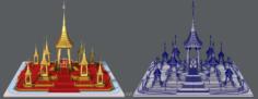 Merumas 3D Model