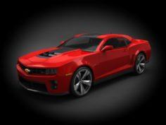 Chevrolet Camaro ZL1 2012 3D Model
