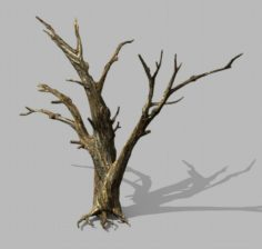 Brutal tribe – dead tree 02 3D Model