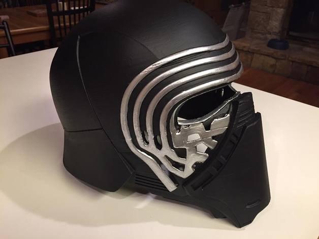 Kylo Ren mask 3D Model