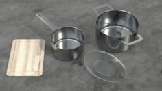 Kitchen Utensils 3D Model