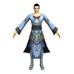 Game 3D Character – Male Mage 01 3D Model