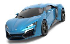 Lykan HyperSport 2014 3D Model