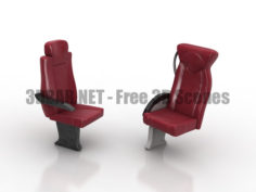 REGIO BORCAD Train Seat armchair 3D Collection