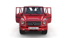 Mercedes Benz G Class with interior Red 3D Model