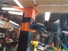Logitech C270 Lack Enclosure Cam Mount 3D Print Model