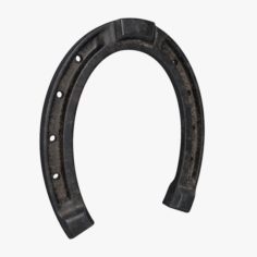 Model of a horseshoe with PBR textures 3D Model