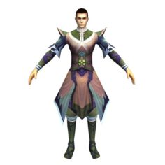 Game 3D Character – Male Taoist 02 3D Model