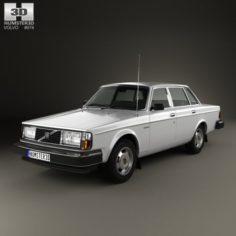 Volvo 244 1979 3D Model