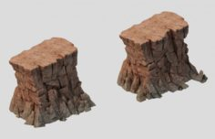 Sennard – Cliffs 02 3D Model