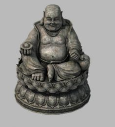 Religion – Statues – Buddha 3D Model