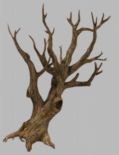 Brutal tribe – dry tree 03 3D Model
