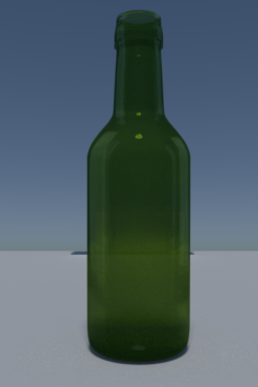 Empty bottle 3D Model