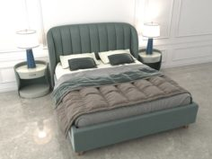 Contemporary Bed Designs 3D Model