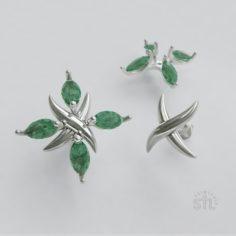 X earrings 3D Model