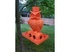 Owl Birdfeeder 3D Print Model