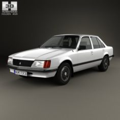 Holden Commodore 1981 3D Model