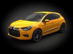 Citroen DS4 2012 3D Model