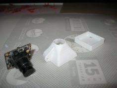 Mount for Runcam 2 FoxeerHD course camera – Large set 3D Model