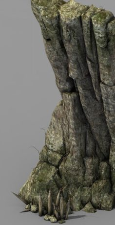Brutal tribes – Cliffs 02 3D Model