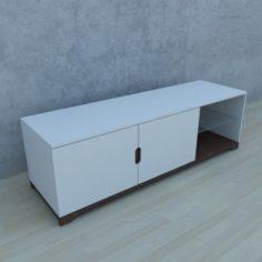 Modern TV stand 3D Model