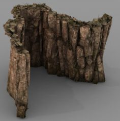 Brutal tribes – Mountain 03 3D Model