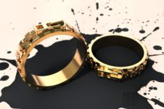 Ring lock 3D Model