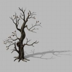 Brutal tribe – withered tree 01 3D Model