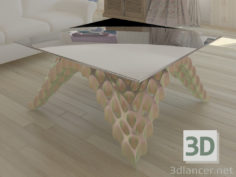 3D-Model  Coffee table