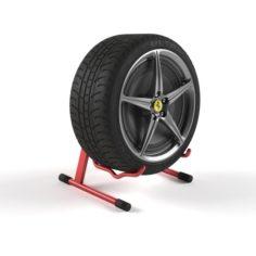 Tire Speaker 3D Model