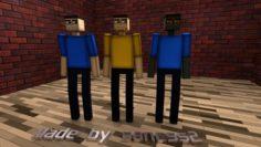 Minecraft Steve Zombie 3D Model