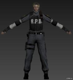 Leon 3D Model