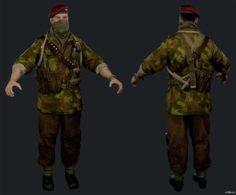 Quartermaster Carver Butcher 3D Model