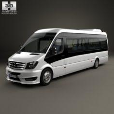 Mercedes-Benz Sprinter CUBY City Line Long Bus 2016 3D Model