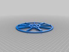 MasterSpool Filament 608ZZ/Roller – Extended 3D Print Model