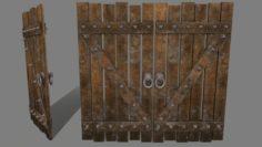 MedievalDoor 3D Model