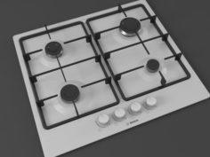 Cooktop 03 3D Model
