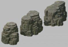 Tongtianhe – Quartet stone 03 3D Model