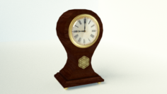 Antique Vintage Clock 3D Model