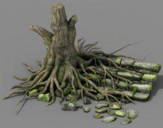 New Village – tree village 3D Model