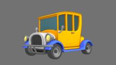 Cartoon Car Classic 3D Model