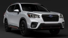 Subaru Forester 2019 3D Model