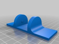 Feet for a 120mm fan 3D Print Model