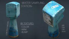 WATER SAMPLING STATION 3D Model