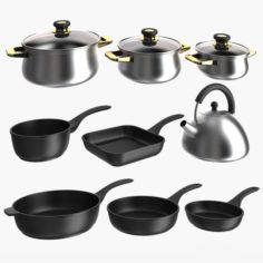 Cookware 02 3D Model