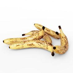 3D Realistic Old Banana model 3D Model