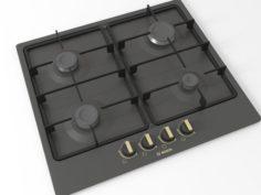 Cooktop 02 3D Model