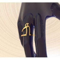 Adjustable ring Cavandolis Linea 2 3D Model