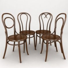 K12 bentwood chair 3D Model
